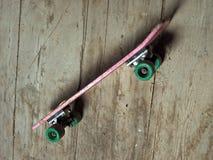 Het skateboard van Grunge Stock Foto