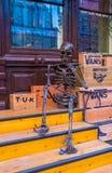 Het skelet Stock Foto