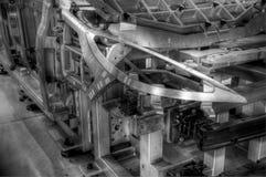 Het skelet van de auto Stock Afbeelding