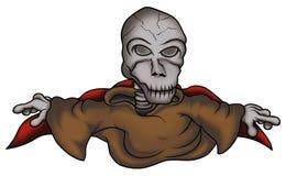 Het Skelet van het spook vector illustratie