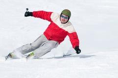 Het skiån Royalty-vrije Stock Foto's