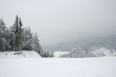 Het skiån plaats Stock Afbeelding