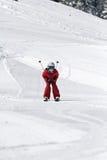 Het skiån van de jongen Royalty-vrije Stock Fotografie