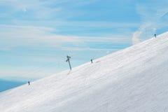 Het ski?en stock fotografie