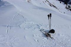 Het ski?en Royalty-vrije Stock Foto