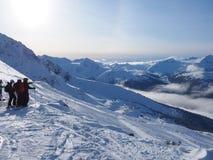 Het ski?en in Canada Stock Afbeeldingen
