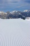 Het ski?en helling Stock Afbeeldingen