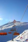 Het ski?en lift Royalty-vrije Stock Afbeeldingen