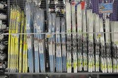 Het ski?en toestel royalty-vrije stock fotografie