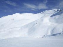 Het ski?en toevlucht in Lenzerheide, Grisons, Zwitserland Royalty-vrije Stock Fotografie