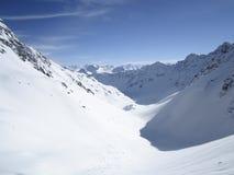 Het ski?en toevlucht in Lenzerheide, Grisons, Zwitserland Stock Afbeelding