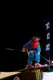 Het ski?en van Newschool Stock Foto