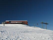 Het skigebied Royalty-vrije Stock Foto