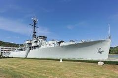 Het slagschip in de tuin Royalty-vrije Stock Fotografie