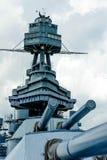 Het Slagschip Texas Royalty-vrije Stock Foto