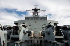 Het slagschip van Thailand Stock Foto