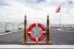 Het slagschip van Thailand Stock Fotografie