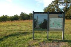 Het slagveldgedenkteken van Virginia Royalty-vrije Stock Foto's