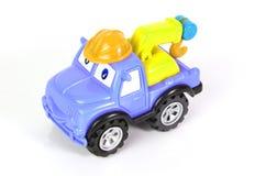 Het slepenvrachtwagen van het stuk speelgoed Royalty-vrije Stock Foto