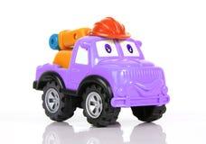 Het slepenvrachtwagen van het stuk speelgoed Stock Fotografie