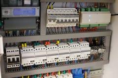 Het slimme systeem van de huisautomatisering Stock Foto