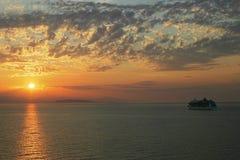 Het slokje van de cruise Stock Afbeelding