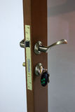 Het slot met sleutels Stock Afbeelding