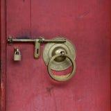Het slot van de deur royalty-vrije stock foto