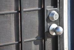 Het slot van de deur royalty-vrije stock afbeelding