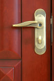 Het slot van de deur Stock Afbeelding