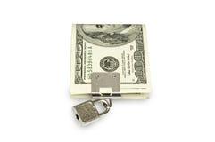 Het slot van de dollar Royalty-vrije Stock Afbeeldingen