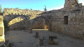 Het slot van de koning van het leeuw-Hart op het Eiland Cyprus royalty-vrije stock fotografie