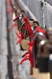 Het slot van de liefde. royalty-vrije stock fotografie