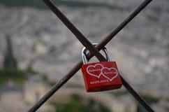 Het slot van de liefde Stock Foto's