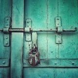 Het slot van de Pittoresquedeur Stock Afbeeldingen