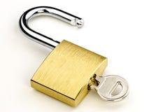 Het slot van de veiligheid Royalty-vrije Stock Afbeelding