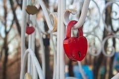 Het Slot van het hart stock foto's