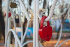 Het Slot van het hart royalty-vrije stock fotografie