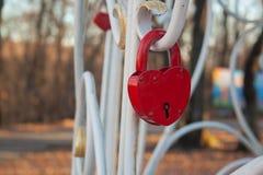 Het Slot van het hart royalty-vrije stock foto's