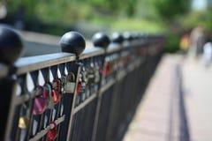 Het slot van Liefde stock afbeelding