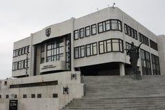 Het Slowaakse het parlementspaleis royalty-vrije stock fotografie