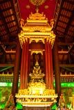 Het smaragdgroene beeld van Boedha Stock Fotografie