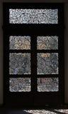 Het smeden van een deur royalty-vrije stock afbeeldingen