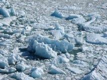 Het smelten van de gletsjer royalty-vrije stock foto