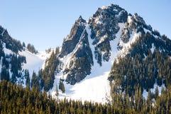 Het sneeuw Paradijs, zet Regenachtiger op stock afbeelding