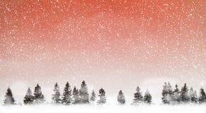 Het sneeuwen stock afbeelding