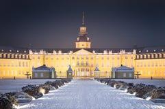 Het sneeuwkasteel van Karlsruhe Royalty-vrije Stock Fotografie