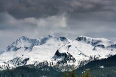 Het sneeuwt Royalty-vrije Stock Foto