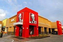 Het snelle voedselrestaurant van KFC royalty-vrije stock afbeeldingen
