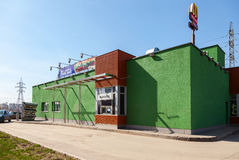 Het snelle voedselrestaurant van McDonald's Stock Afbeelding